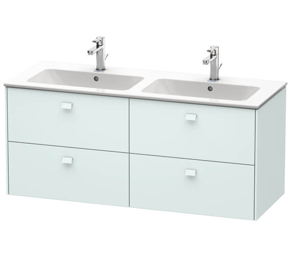 Additional image of Duravit Brioso Wall Mounted 1290mm 4 Drawer Vanity Unit For ME by Starck