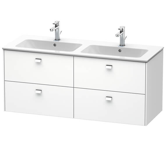 Alternate image of Duravit Brioso Wall Mounted 1290mm 4 Drawer Vanity Unit For ME by Starck