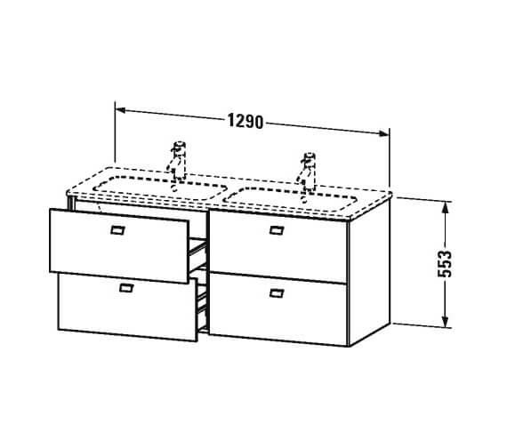 Technical drawing QS-V100506 / BR410601818