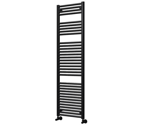 Vogue Focus 500 x 1800mm Mildsteel Straight Towel Rail
