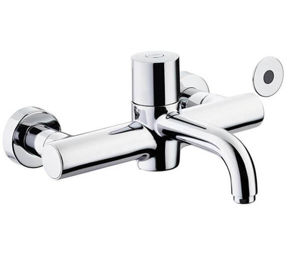 Additional image of Armitage Shanks Markwik 21+ Panel Mounted Time Flow Sensor Thermostatic Basin Mixer Tap