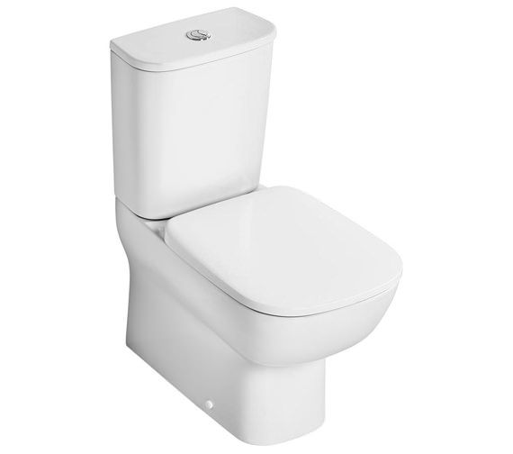 Additional image of Ideal Standard Studio Echo Short Projection Closed Coupled Back To Wall WC Pan