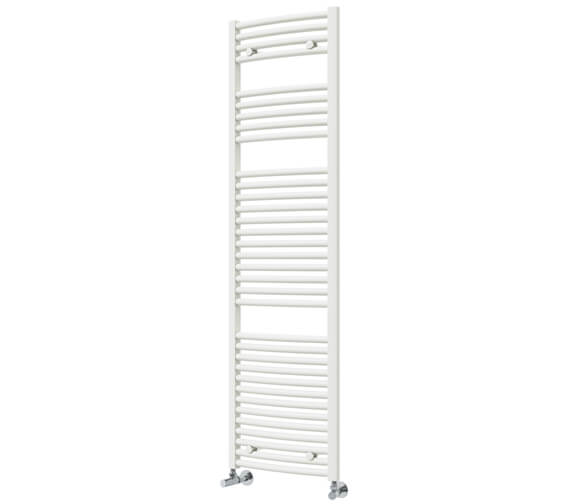 Alternate image of Vogue Chorus 500mm Width Mildsteel Curved Towel Rail