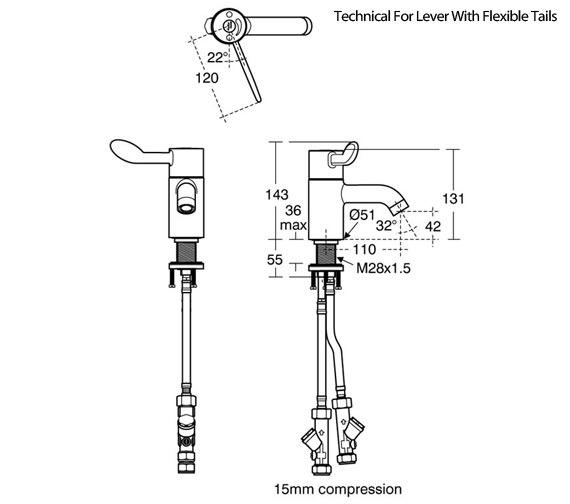Technical drawing QS-V92208 / A6697AA