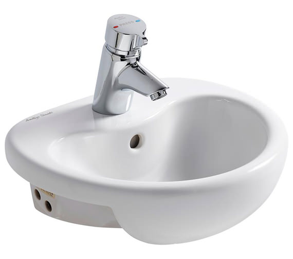 Armitage Shanks Contour 21 Splash 400mm Semi Countertop Washbasin