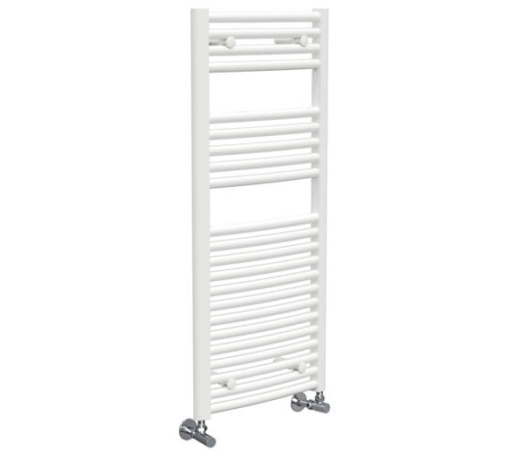 Additional image of Vogue Chorus 500mm Width Mildsteel Curved Towel Rail