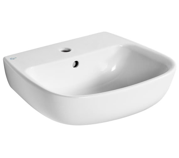 Ideal Standard Studio Echo 1 Tap Hole Washbasin With Overflow