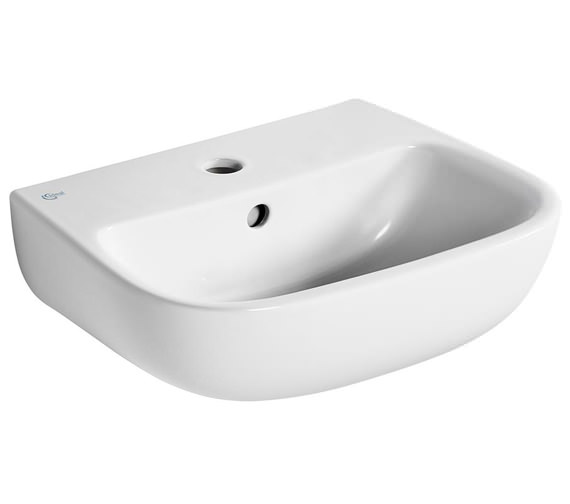 Ideal Standard Studio Echo 1 Tap Hole 450mm Washbasin With Overflow
