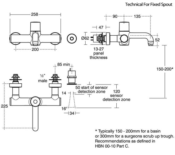 Technical drawing QS-V92206 / A6684AA
