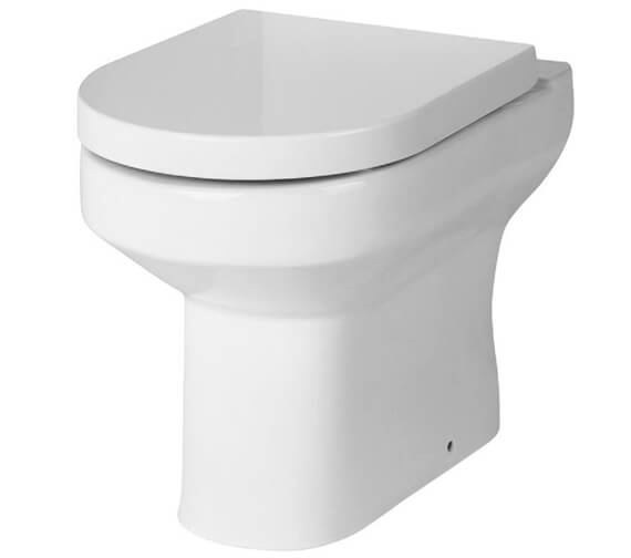 Hudson Reed Harmony 370 x 520mm Back To Wall Pan And Soft Close Seat