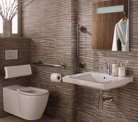 Ideal Standard Concept Freedom Ensuite Bathroom Pack With 600mm Basin And WC