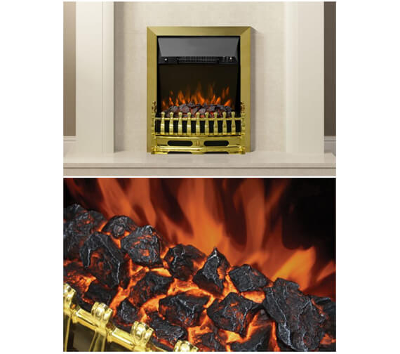 Alternate image of Bemodern Bayden Classic 482mm Inset Electric Fire