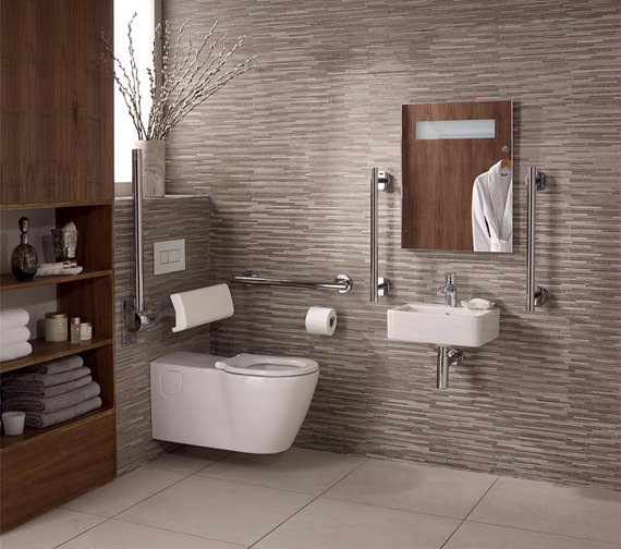 Ideal Standard Concept Freedom Ensuite Bathroom Pack With 400mm Basin And WC