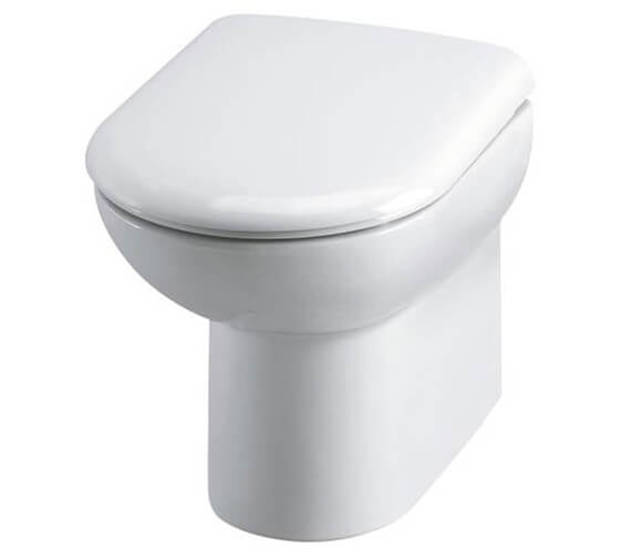 Hudson Reed Linton 370 x 530mm Back To Wall Pan And Soft Close Seat