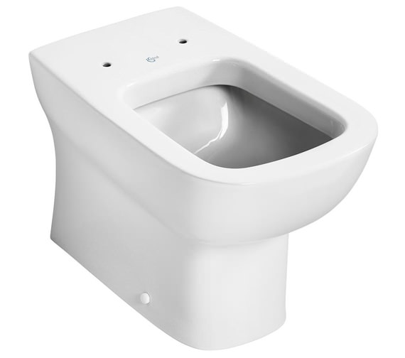 Ideal Standard Studio Echo Back To Wall WC Pan With Horizontal Outlet