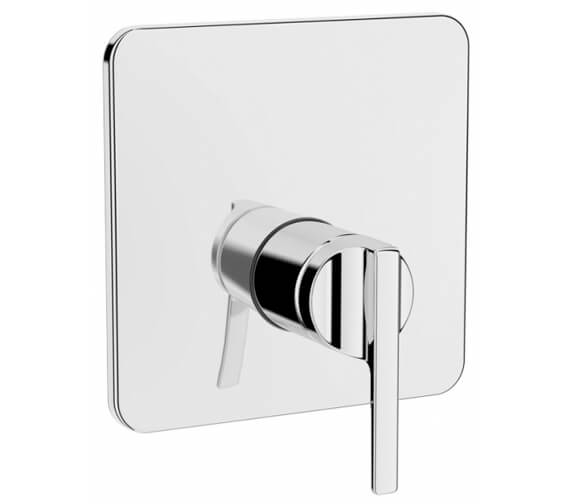 VitrA Suit L Chrome 1 Way Built-In Shower Mixer Valve - Exposed Part
