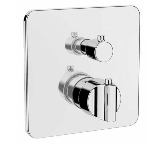 VitrA Suit L Built-In Thermostatic Shower Mixer Valve - Exposed Part