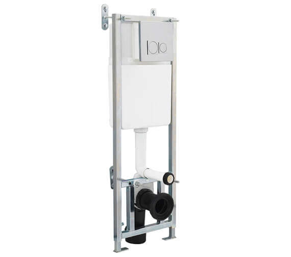Hudson Reed 395 x 1100mm Wall Hung Frame With Dual Flush Concealed Cistern