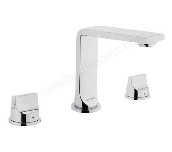 VitrA Suit L Deck Mounted 3 Hole Basin Mixer Tap