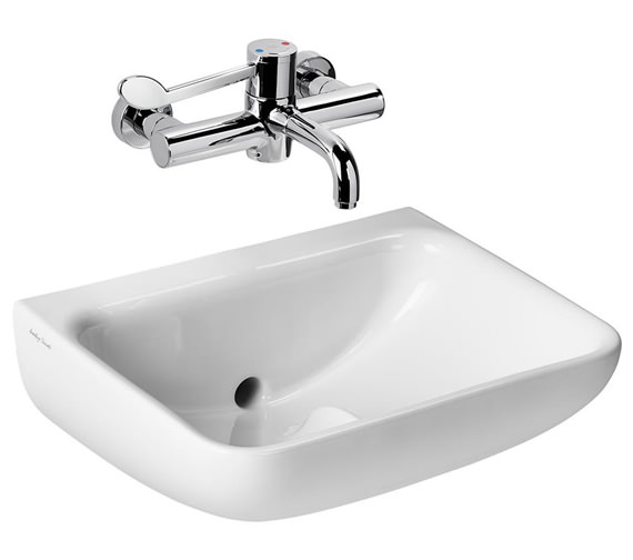 Armitage Shanks Contour 21+ Back Outlet Washbasin