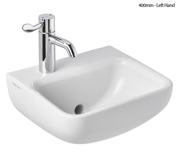 Armitage Shanks Contour 21 Plus 1 Taphole Back Outlet Hygenic Washbasin Back Outlet Washbasin
