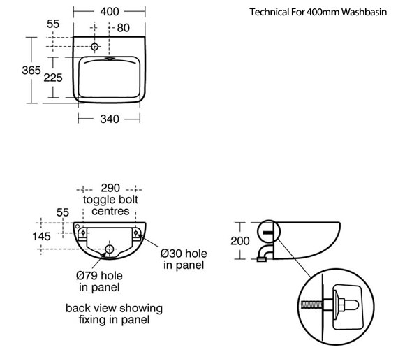 Technical drawing QS-V89419 / S0433HY