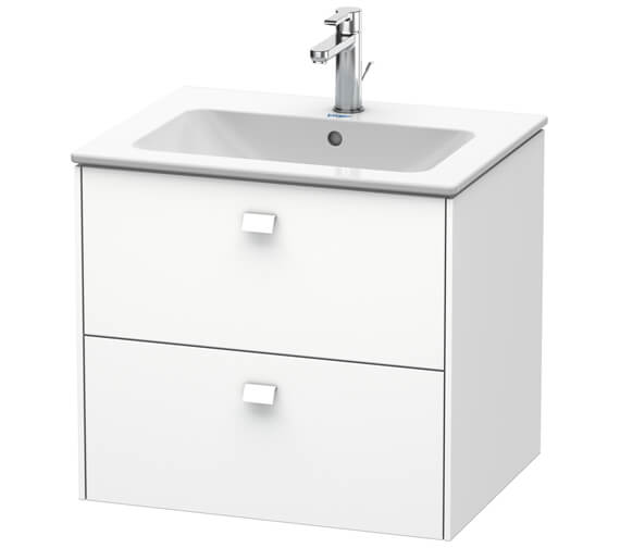 Duravit Brioso Wall Mounted 2 Drawer Vanity Unit For ME by Starck Basin