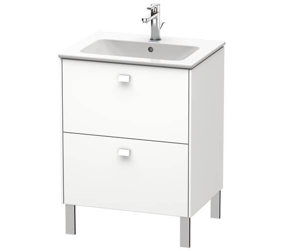 Duravit Brioso Floor Standing 2 Drawer Vanity Unit For ME by Starck Basin
