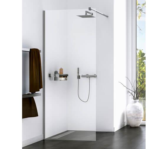 Aqualux Origin 1400mm Walk-In Shower Panel