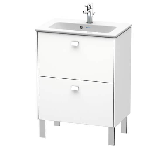 Duravit Brioso Floor Standing 2 Drawer Compact Vanity Unit For ME by Starck Basin