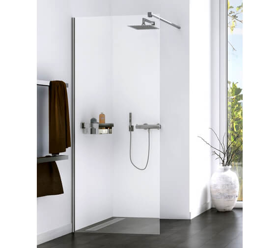 Aqualux Origin 800mm Walk-In Shower Panel