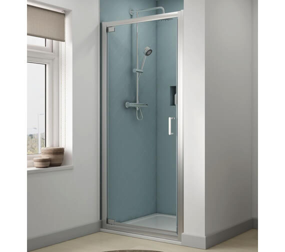 Aqualux Origin 900mm Pivot Shower Door