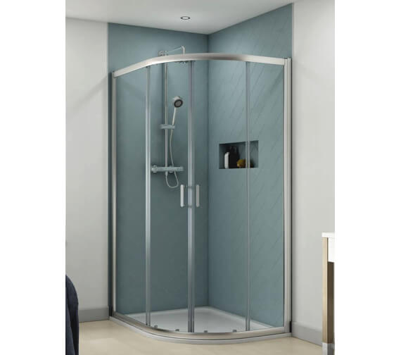 Aqualux Origin 1200 x 800mm Offset Quadrant Shower Enclosure