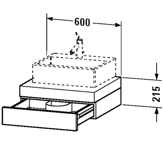 Technical drawing QS-V48461 / FO852001818