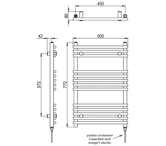 Technical drawing QS-V88516 / MD003 MS0772500CP