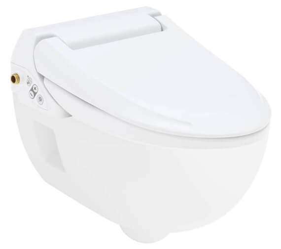 Geberit AquaClean 4000 Rimless Toilet 400 x 505mm With Seat