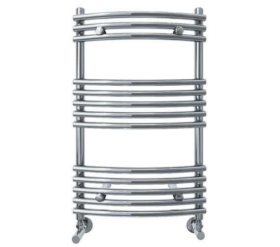 Vogue Melody 500mm Width Mildsteel Curved Towel Rail