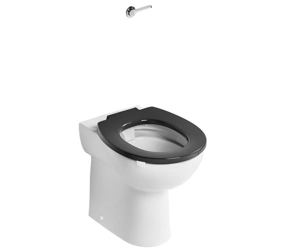 Armitage Shanks Contour 21+ Raised Height 525mm Projection Back to Wall Rimless WC Pan