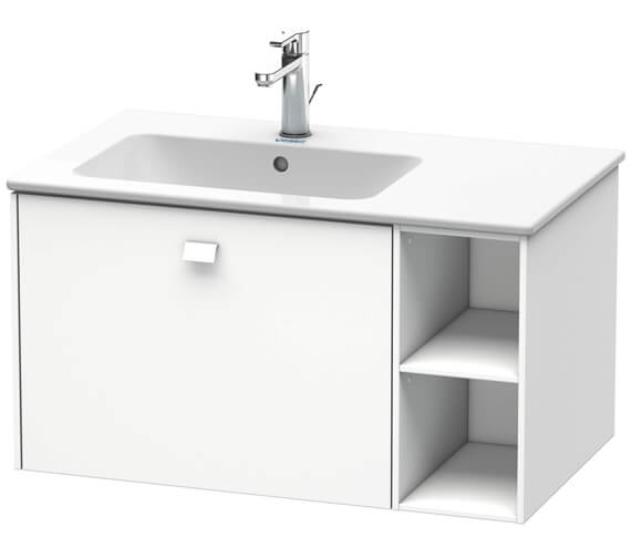 Duravit Brioso Wall Mounted 1 Drawer Vanity Unit For ME by Starck Basin