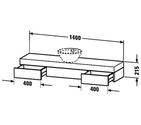 Technical drawing QS-V48453 / FO838201818