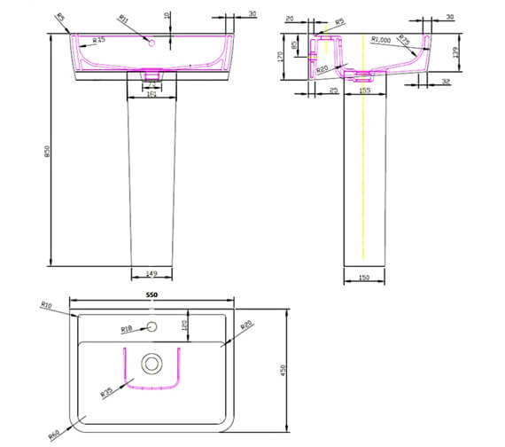 Technical drawing QS-V4923 / CPC025