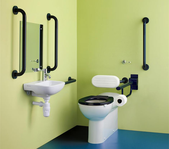 Armitage Shanks Doc M Contour 21+ Back To Wall Cloakroom Suite Pack