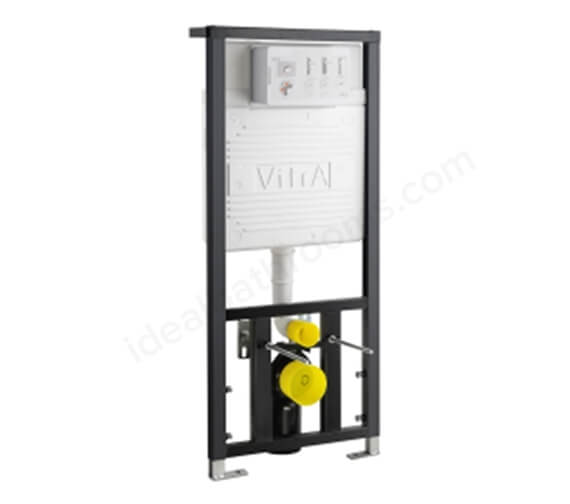 VitrA 80mm Floor And Wall Fixation Frame With 3-6 Litres Concealed Cistern
