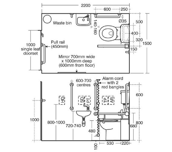Technical drawing QS-V89427 / S0689AC