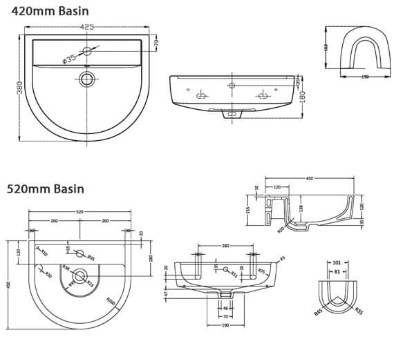 Technical drawing QS-V4917 / CMA002