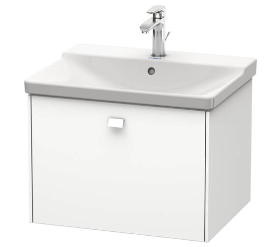 Duravit Brioso Wall Mounted 1 Drawer Compact Vanity Unit For P3 Comforts Basin