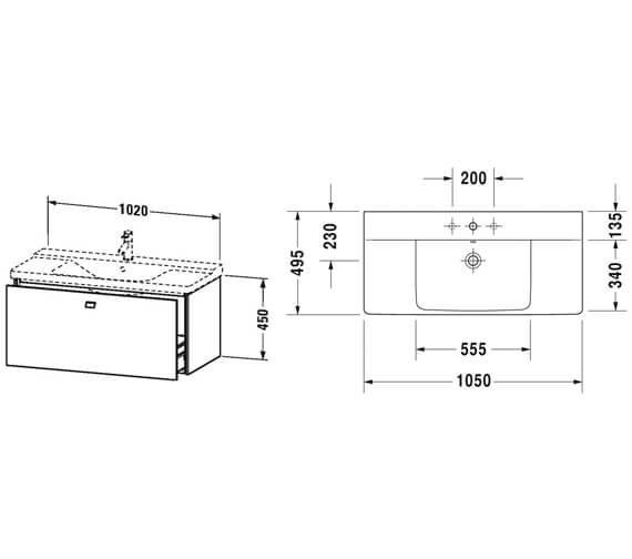 Technical drawing QS-V95813 / BR402001818