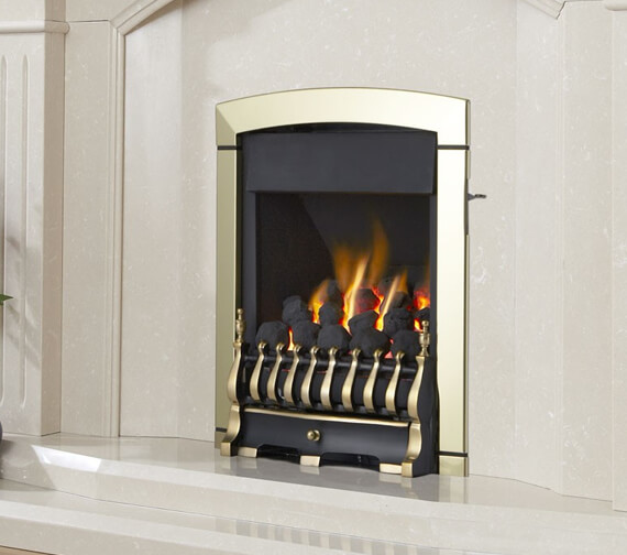 Flavel Calypso Plus Open Fronted High Efficiency Gas Fire