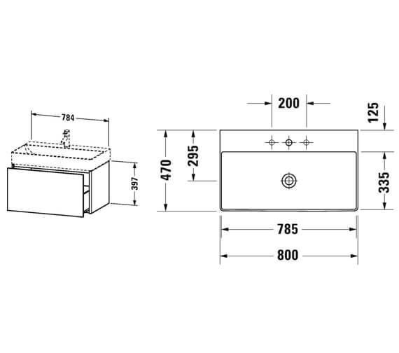 Technical drawing QS-V99599 / XS406101818