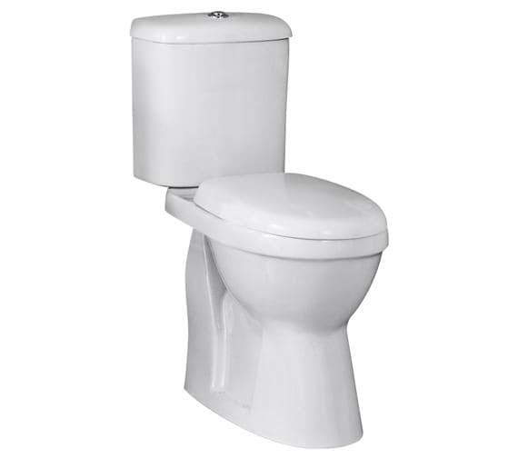 Premier Doc M 650mm Comfort Height Pan Cistern And Seat